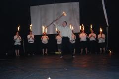 Varieténachmittag 2017 - Feuershow