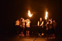 Zirkusdinner 2017 - Feuershow